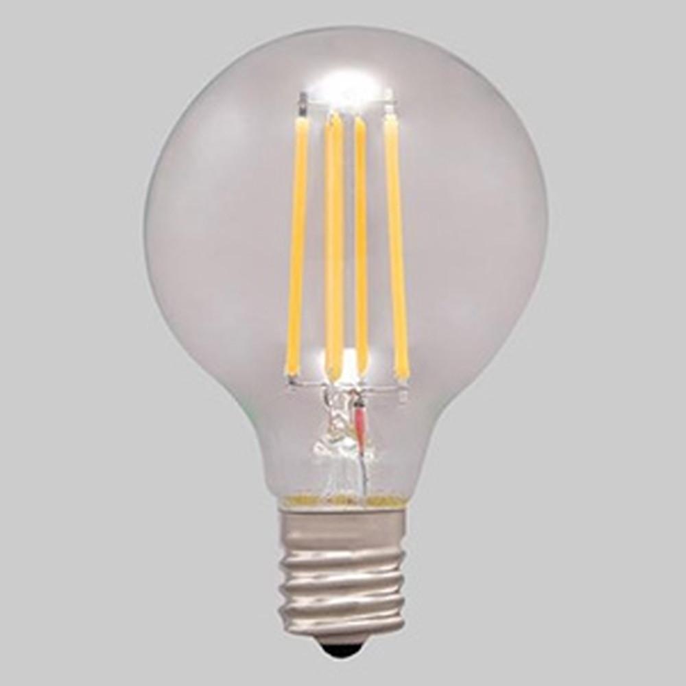 アイリスオーヤマ 【ケース販売特価 24個セット】 LEDフィラメント電球 ミニボール電球タイプ ボール電球40形相当 全方向タイプ 密閉形器具対応 昼白色 E17口金 LDG4N-G-E17-FC_set