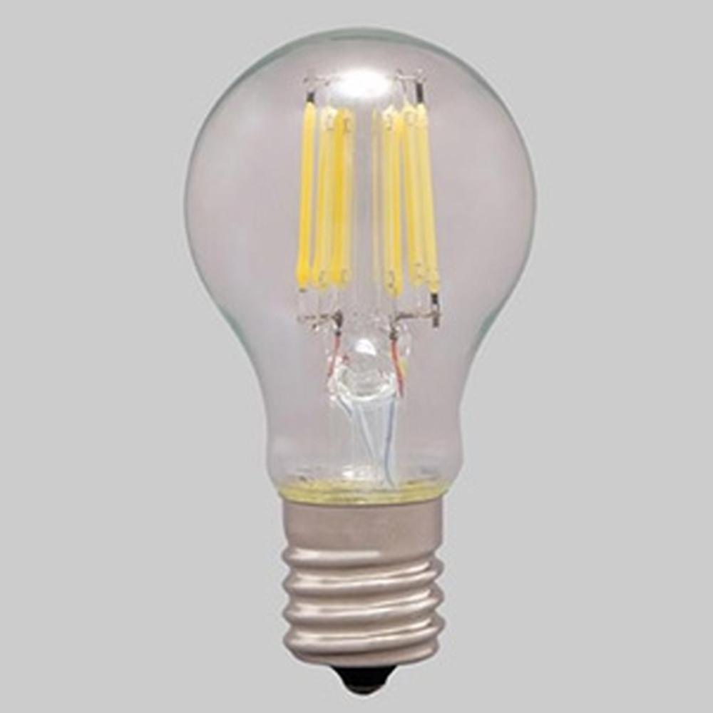 アイリスオーヤマ 【ケース販売特価 24個セット】 LEDフィラメント電球 ミニクリプトン球タイプ 小形電球40形相当 密閉形器具対応 昼白色 E17口金 LDA4N-G-E17-FC_set