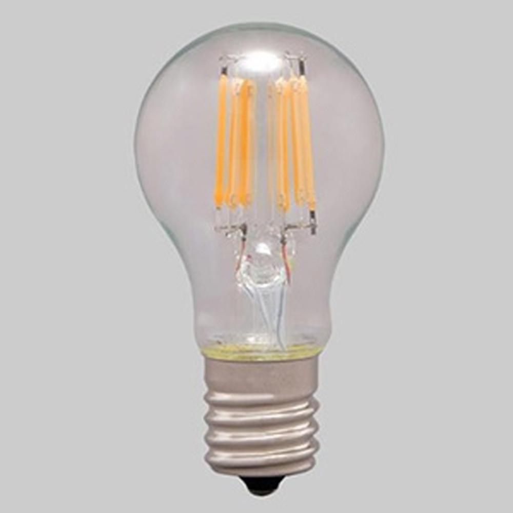 アイリスオーヤマ 【ケース販売特価 24個セット】 LEDフィラメント電球 ミニクリプトン球タイプ 小形電球40形相当 密閉形器具対応 電球色 E17口金 LDA4L-G-E17-FC_set