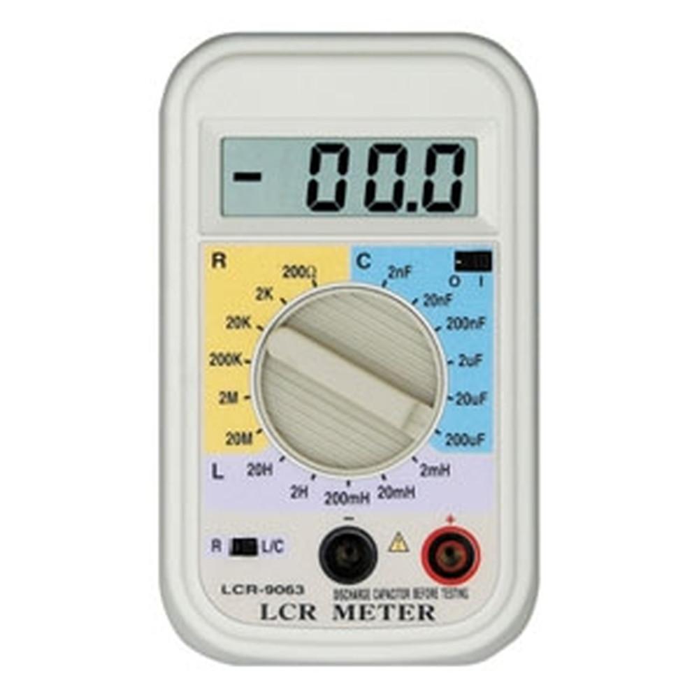 マザーツール デジタルLCRメータ 小型軽量ハンディタイプ LCR-9063