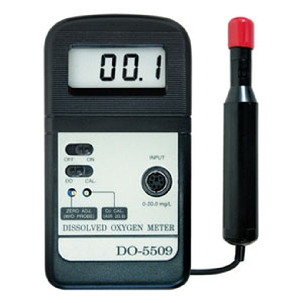 マザーツール デジタル溶存酸素計 ポーラログラフ式センサ 測定範囲0~20mg/L DO-5509