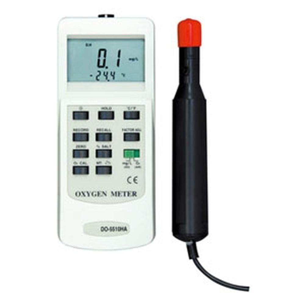 マザーツール デジタル溶存酸素計 ポーラログラフ式センサ 溶存酸素(DO)・気中酸素(O2)・温度(℃)測定 DO-5510HA