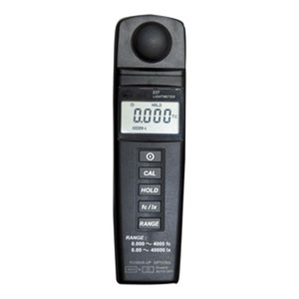 マザーツール デジタル照度計 測定範囲0.01~40000Lux ゼロ調整機能付 MT-337