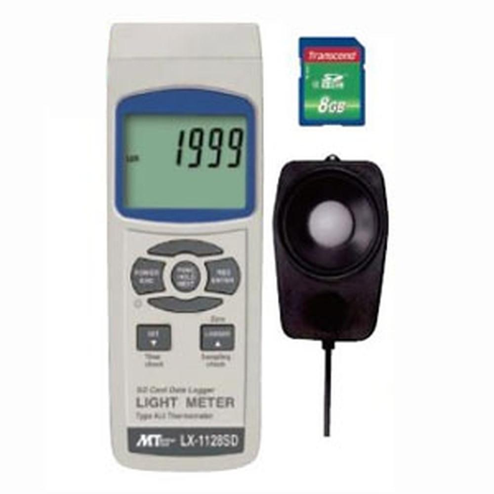 マザーツール デジタル照度計 SDスロット搭載 データロガ機能付 測定範囲0~100000Lux LX-1128SD
