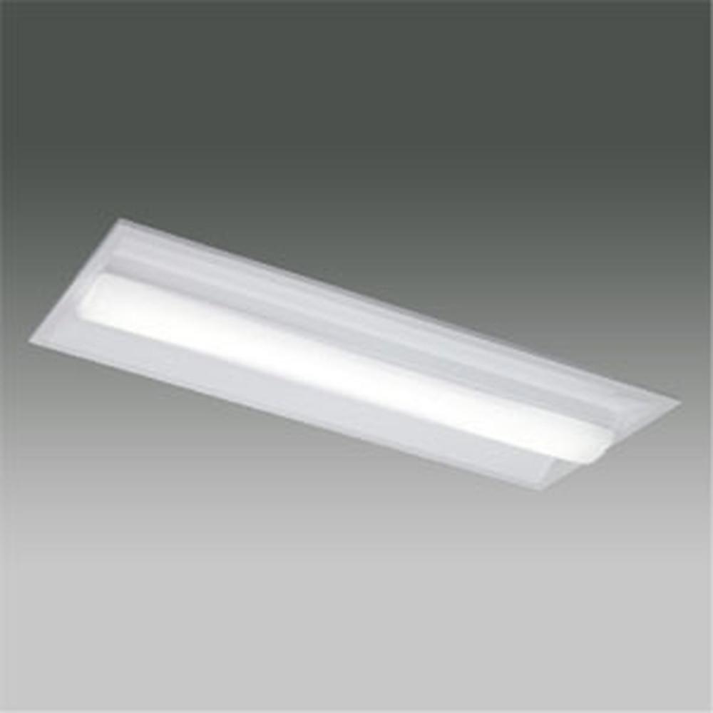 東芝 【お買い得品 10台セット】 LEDベースライト 《TENQOOシリーズ》 20タイプ 埋込形 Cチャンネル回避器具 一般タイプ 800lmタイプ FL20形×1灯用器具相当 昼白色 調光タイプ LEKR223083N-LD9_set