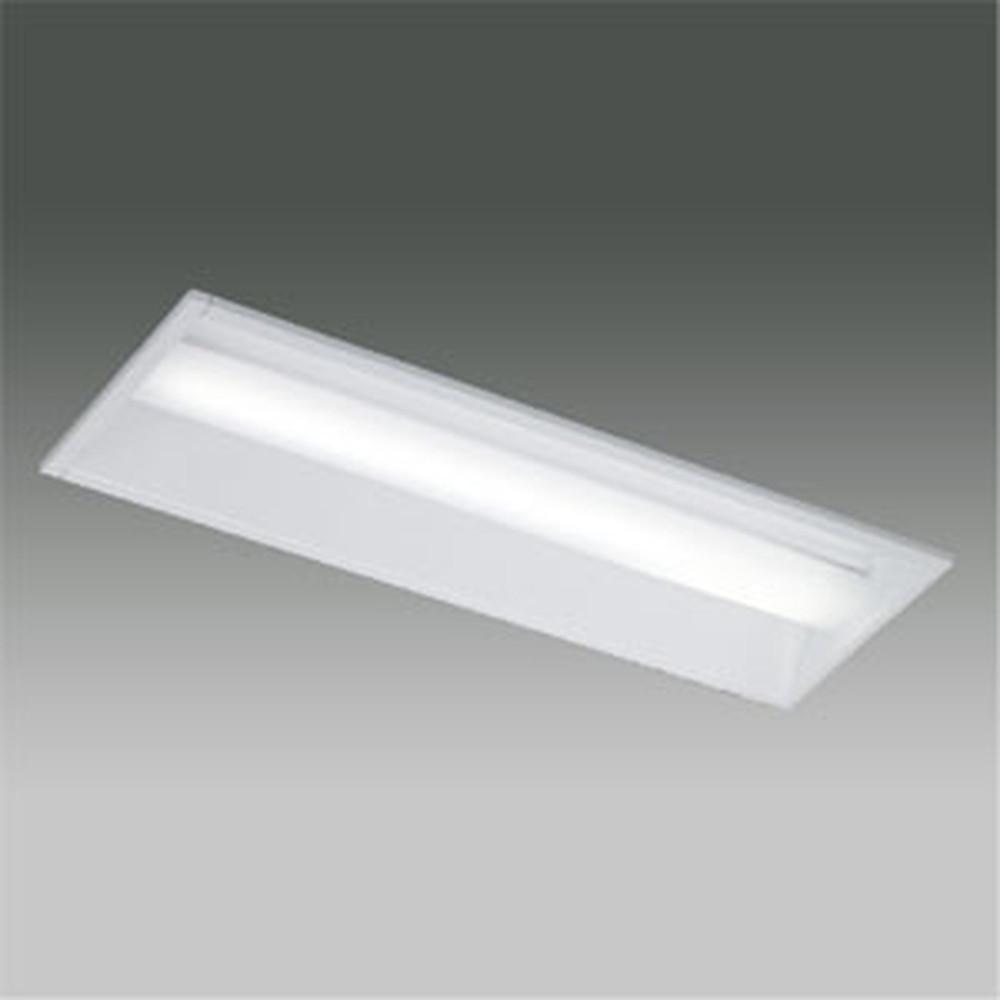 東芝 【お買い得品 10台セット】 LEDベースライト 《TENQOOシリーズ》 20タイプ 埋込形 下面開放タイプ W220 一般タイプ 800lmタイプ FL20形×1灯用器具相当 昼白色 非調光タイプ LEKR222083N-LS9_set