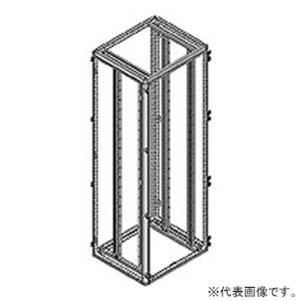 日東工業 ラックマウントセット FZシリーズオプション 深600mm用 JIS規格 パネル取付スペース40H FCX-Z60721J