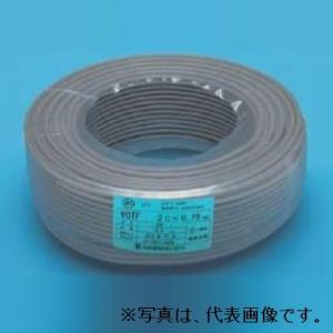 伸興電線 ビニルキャブタイヤ丸形コード 3.5㎟ 4心 100m巻 灰色 VCTF3.5SQ×4C×100mハイ