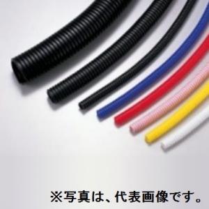 【最新入荷】 外径φ7.5±0.3mm 1500m巻 内径φ5.3±0.1mm KC5:電材堂 黒 電線保護材 コルゲートチューブ エスケイ工機-DIY・工具
