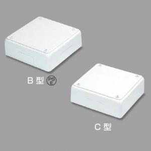 マサル工業 【お買い得品 10個セット】 ジャンクションボックス C型 ミルキーホワイト 《メタルモール 付属品》 C3093_10set