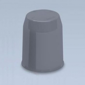 マサル工業 【ケース販売特価 50個セット】 ボルト用保護カバー 22型 グレー BHC221_set