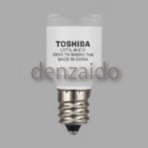 東芝 【ケース販売特価 10個セット】 LED電球 常夜灯形 集光タイプ 電球色 E12口金 LDT1L-M-E12_set