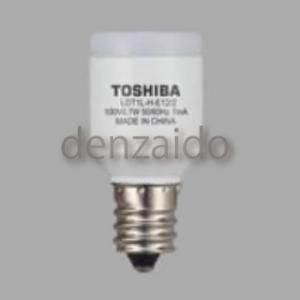 東芝 【ケース販売特価 10個セット】 LED電球 常夜灯形 拡散光タイプ 電球色 E12口金 LDT1L-H-E12/2_set