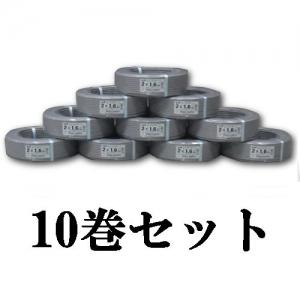 【期間限定特価】 富士電線 【お買い得品 10巻セット】 VVFケーブル(平形) 1.6mm×2芯×100m VVF1.6×2C×100M_10set