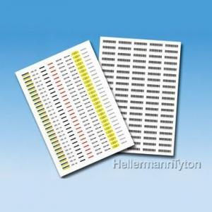 ヘラマンタイトン レーザープリンター用ラベル 印刷部分37.0mm×12.0mm 白 TAGN17L-9372