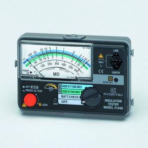 タスコ 2レンジ絶縁抵抗計 小型・軽量2レンジメガ オートディスチャージ機能付 TA453A-3