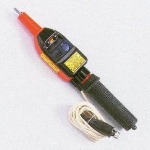 タスコ 高圧交・直両用検電器 伸縮式 音響発光式 プラグクリップ付接地線3m TA457AE