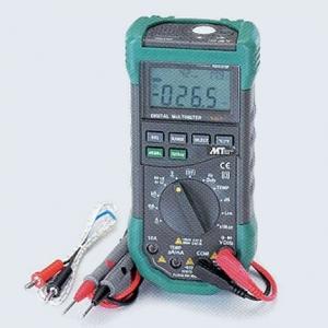 タスコ オールインワンデジタルマルチメータ テストリード誤挿入防止機能搭載 TA452GL