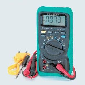 タスコ デジタルマルチメータ 温度測定機能付 データホールド・オートパワーオフ機能搭載 TA452KW