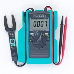 タスコ AC/DCクランプ付デジタルマルチメータ ポケットサイズ オートゼロアジャスト機能付 TA452DJ-3