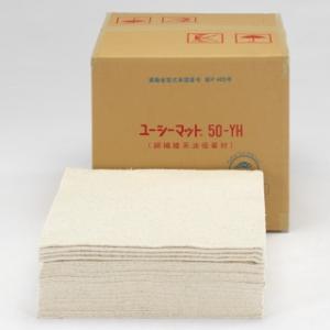 タスコ オイル吸着マット 天然綿繊維(綿花) 100枚入 TA912TK