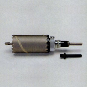 タスコ 両刃コアドリル 回転・振動兼用 刃先サイズ85mm ストレート・SDSシャンク付 TA670W-85