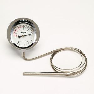 タスコ 隔測指示温度計 下方取出式 外径φ100mm TA408MA-100