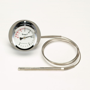 タスコ 隔測指示温度計 背面取出式 外径φ100mm TA408MB-100