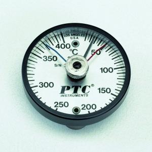 タスコ スタンダード高温・低温置針付温度計 -20~+250℃ マグネット2個付 TA409N-250