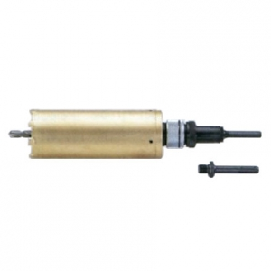 タスコ 乾式ダイヤモンドコアドリル 難削材用 回転専用 刃先サイズ110mm ストレート・SDSシャンク付 TA661BB-110