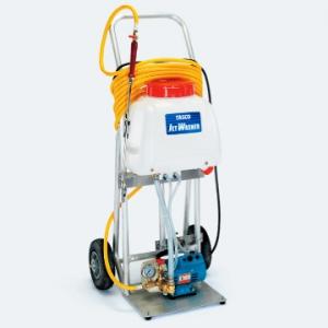 タスコ タンク付洗浄機 ポンプ圧力3.5MPa オイルレスポンプ搭載 タンク容量15L TA351C