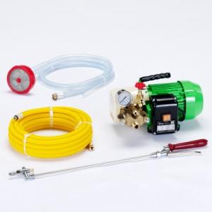 タスコ 小型強力洗浄機 ポンプ圧力3.4MPa 自給式 オイルレスポンプ採用 TA352DC
