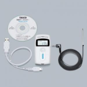 タスコ ミニ温度データロガー 内蔵センサー/外部センサー2WAY計測 TA413A