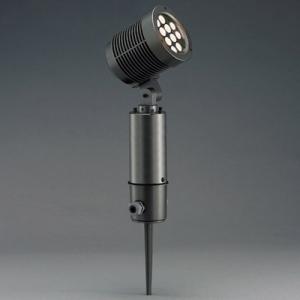 山田照明 LED一体型スポットライト スパイクタイプ HID35相当 電球色 定格光束788lm ダークグレーメタリック AD-2439-L