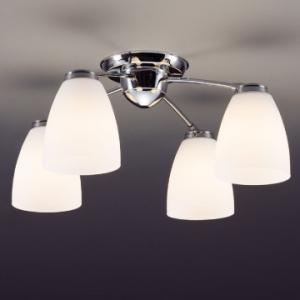 山田照明 LEDシャンデリア ~6畳向け E26 LED電球 9.1W×4 電球色 CD-4280-L