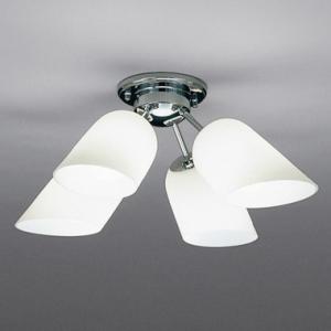 山田照明 LEDシャンデリア ~4.5畳向け E26 LED電球 9.1W×4 電球色 CD-4286-L