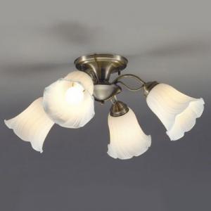 山田照明 LEDシャンデリア ~4.5畳向け E26 LED電球 9.1W×4 電球色 CD-4292-L