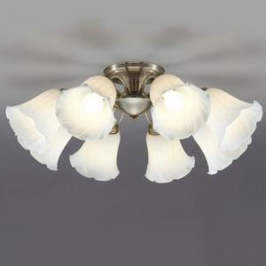 山田照明 LEDシャンデリア ~12畳向け E26 LED電球 9.1W×8 電球色 CD-4294-L