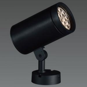 山田照明 LED一体型スポットライト フランジタイプ HID70W相当 昼白色 定格光束2611lm ブラック AD-2580-N