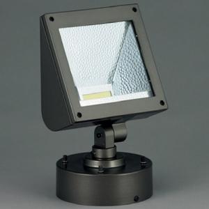 山田照明 LED一体型スポットライト フランジタイプ HID70W相当 白色 定格光束2223lm AD-2593-W