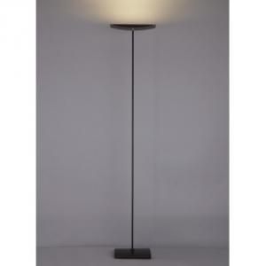 山田照明 LEDフロアスタンド 両口ハロゲン150W相当 電球色 定格光束1760lm ブラック フットスイッチ付 FD-4149-L