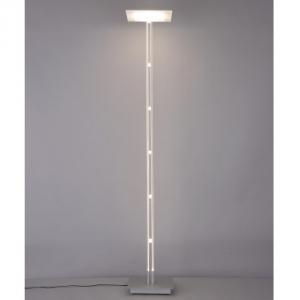 山田照明 LEDフロアスタンド 白熱40W相当 電球色 定格光束477lm シルバー フットスイッチ付 FD-4150-L