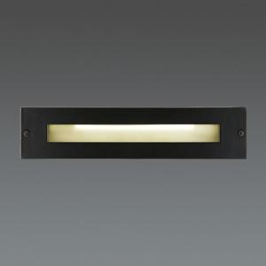山田照明 LED一体型フットライト 白熱40W相当 電球色 定格光束44lm ダークグレーメタリック AD-2513-L