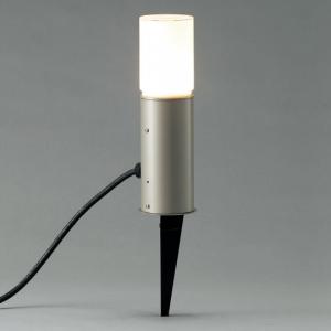 山田照明 LEDガーデンライト スパイクタイプ 白熱40W相当 電球色 定格光束268lm ダークシルバー AD-2605-L