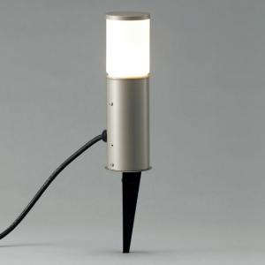 山田照明 LEDガーデンライト スパイクタイプ 白熱40W相当 電球色 定格光束220lm ダークシルバー AD-2607-L