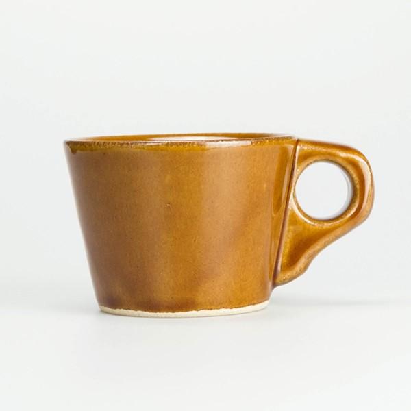 【全品ポイント10倍】マグ コーヒー カフェ カップ シンプル モダン リビング ダイニング アメリカ 田舎的 家庭的 食器 食卓 益子 AMCE FURNITURE CROOKS COFFEE MUG CAMEL クロックスコーヒーマグ キャメル