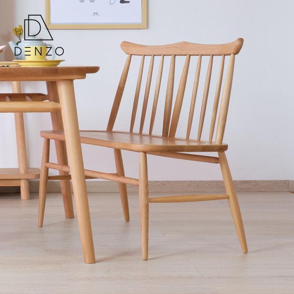 【(5/1限定!)エントリーでP20倍!】 ベンチ 背付きベンチ チェア 北欧 木製 アルダー 2P 幅100cm 椅子 2人用 二人掛け 背もたれ シンプル 天然木 無垢 おしゃれ 送料無料 NORN SETSUKI BENCH -ノルン 背付きベンチ- [ISSEIKI 一生紀 200007][キャッシュレス還元]