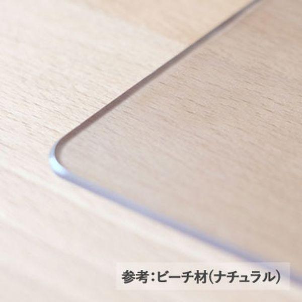 【PSマット】フルール120cm幅デスク用マット[キャッシュレス還元]
