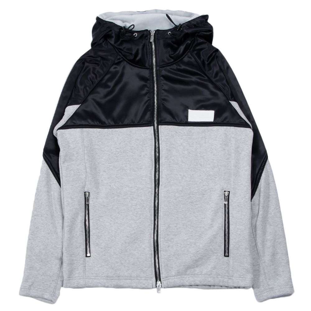 Nike Men/'s Classic Sports Casual Zip-Up Jacket Black//White//Royal 100/% Polyester