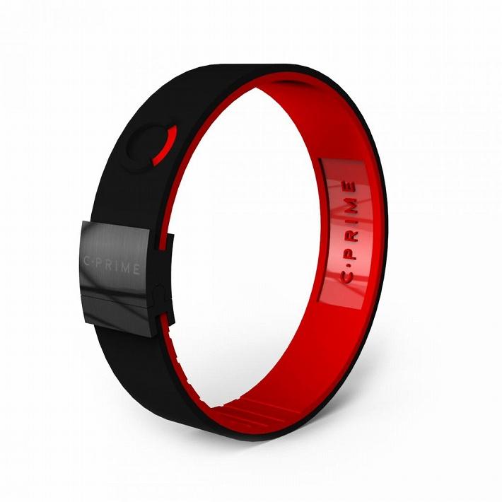 C-PRIME シープライム NEO thinline ネオシンライン BLACKxREDxBLACKパワーバンド リストバンド ブレスレットバランス スポーツ 運動 健康